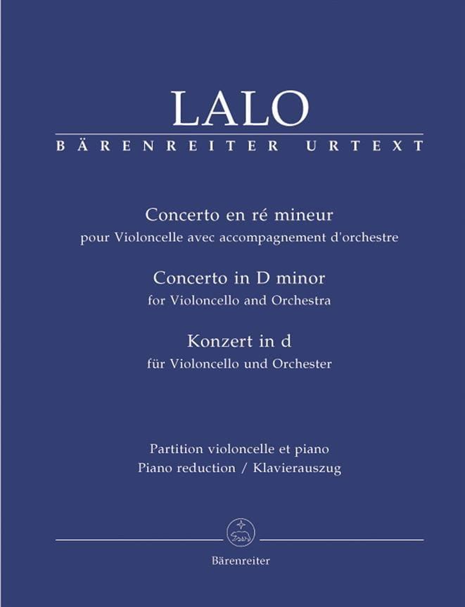 Concerto en Ré Mineur - LALO - Partition - laflutedepan.com