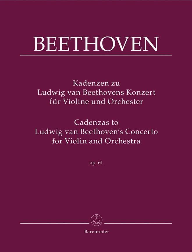 Cadences Sur le Concerto Op.61 De Beethoven - laflutedepan.com