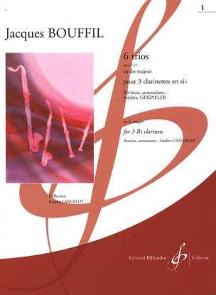 6 Trios - op. 7 n° 1 en ut Jacques-Jules Bouffil laflutedepan