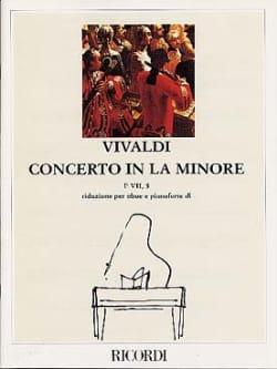 VIVALDI - Concerto in the min. - F. 7 no. 5 - Oboe pianoforte - Partition - di-arezzo.co.uk