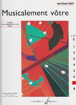 Musicalement Vôtre Volume 7 - Prof Jean-Clément Jollet laflutedepan