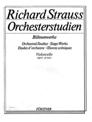 Orchesterstudien - Heft 2 Cello Richard Strauss Partition laflutedepan