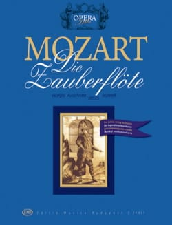 La Flûte enchantée MOZART Partition ENSEMBLES - laflutedepan
