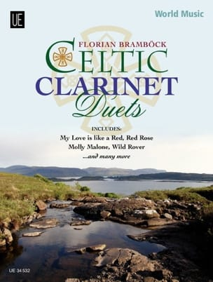 Celtic Clarinet duets Traditionnel Partition laflutedepan