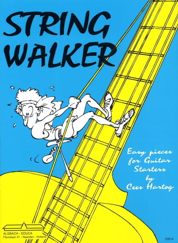 String Walker - Cees Hartog - Partition - Guitare - laflutedepan.com