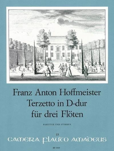 Terzetto Pour 3 Flûtes - HOFFMEISTER - Partition - laflutedepan.com