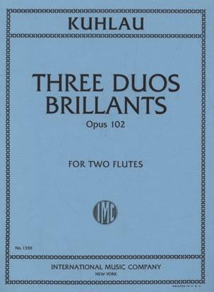 3 Duos brillants op. 102 - 2 Flûtes - laflutedepan.com