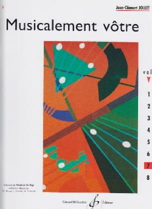 Musicalement Vôtre Volume 7 - Jean-Clément Jollet - laflutedepan.com