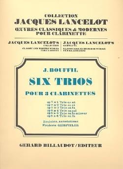 6 Trios - op. 7 n° 2 en ré Jacques-Jules Bouffil laflutedepan