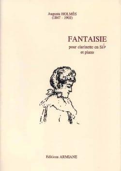 Fantaisie Augusta Holmès Partition Clarinette - laflutedepan