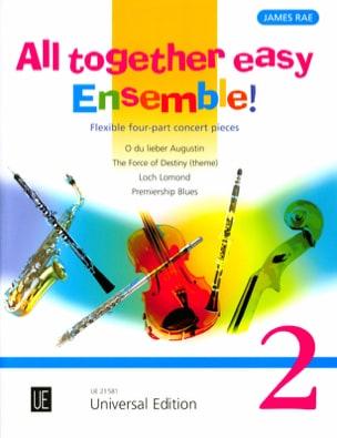 All Together Easy Ensemble ! Volume 2 James Rae Partition laflutedepan