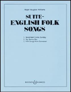 English Folk Song Suite WILLIAMS VAUGHAN Partition laflutedepan