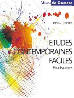 Études contemporaines faciles Pascal GERVAIS Partition laflutedepan