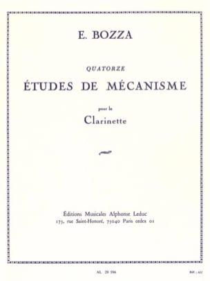 14 Etudes de mécanisme Eugène Bozza Partition laflutedepan