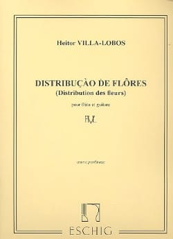 Distribuicao de Flores - Flûte et guitare VILLA-LOBOS laflutedepan