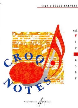Croq' Notes - Volume 3 Sophie Jouve-Ganvert Partition laflutedepan
