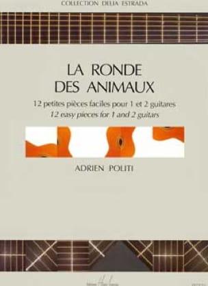 Ronde des animaux - Adrien Politi - Partition - laflutedepan.com