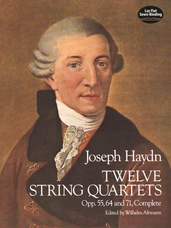 12 String Quartets, Op. 55, 64, 71 - HAYDN - laflutedepan.com