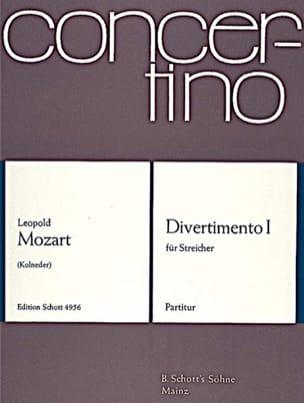 Divertimento Nr. 1 - Partitur Leopold Mozart Partition laflutedepan