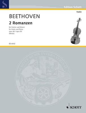 2 Romanzen op. 40 G-Dur und op. 50 F-Dur - Violine laflutedepan