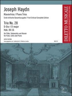 Trio N° 28 en Ré Majeur HAYDN Partition Trios - laflutedepan