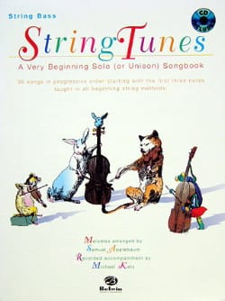 String Tunes - Contrebasse Samuel Applebaum Partition laflutedepan