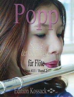 Schule Der Geläufigkeit Op. 411 Volume 2 Wilhelm Popp laflutedepan