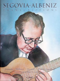 Transcriptions ALBENIZ Partition Guitare - laflutedepan