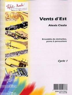 Vents d'Est Alexis Ciesla Partition Clarinette - laflutedepan