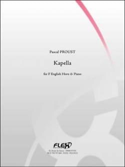 Kapella pour Cor anglais Pascal Proust Partition laflutedepan