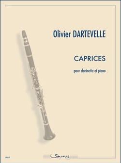 Caprices - Clarinette et Piano - Olivier Dartevelle - laflutedepan.com