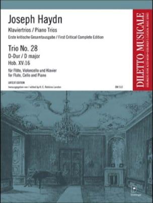 Trio N° 28 en Ré Majeur - HAYDN - Partition - Trios - laflutedepan.com