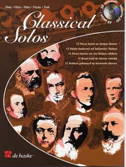 Classical Solos - Flute Michael Friedmann Partition laflutedepan