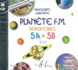 CD - Planete FM Volume 5 - Accompagnements/Dictées laflutedepan