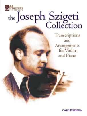 The Josef Szigeti Collection Collection Szigeti Partition laflutedepan