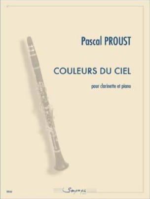Couleurs du ciel - Pascal Proust - Partition - laflutedepan.com
