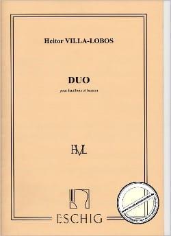 Duo - Hautbois et Basson VILLA-LOBOS Partition Duos - laflutedepan