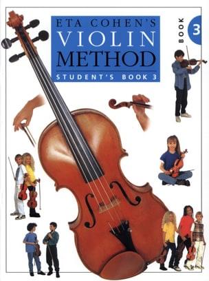Violin Method, Volume 3 - Student Eta Cohen Partition laflutedepan