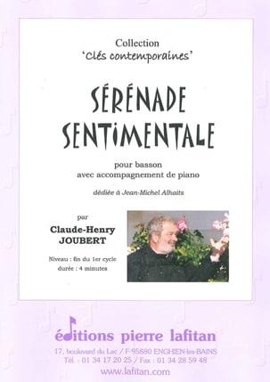 Sérénade Sentimentale Claude-Henry Joubert Partition laflutedepan