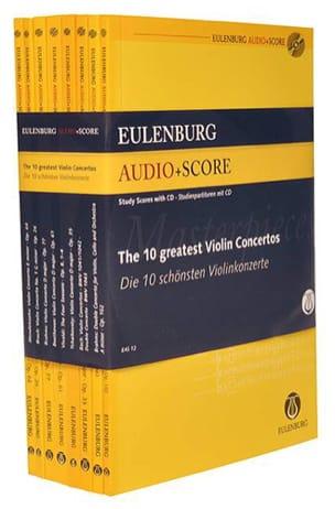 The 10 greatest Violin Concertos Partition laflutedepan