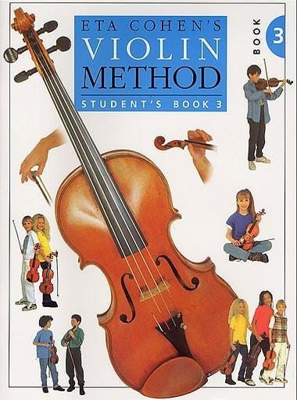 Violin Method, Volume 3 - Student - Eta Cohen - laflutedepan.com
