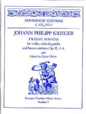 12 Sonates op. 2 n° 4-6 - Johann Philipp Krieger - laflutedepan.com