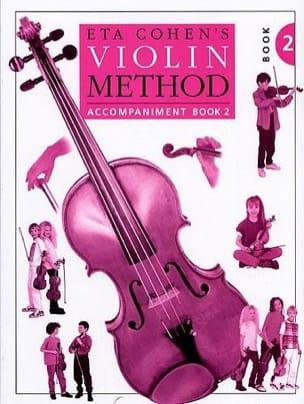 Violin Method, Volume 2 - Piano accomp. Eta Cohen laflutedepan