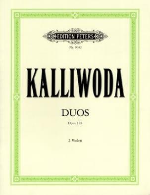 Duos op. 178 - 2 Altos Johannes Wenzeslaus Kalliwoda laflutedepan