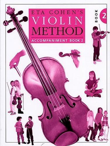 Violin Method, Volume 2 - Piano accomp. - Eta Cohen - laflutedepan.com