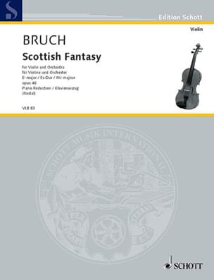 Max Bruch - Schottische Fantasie op. 46 - Partition - di-arezzo.co.uk