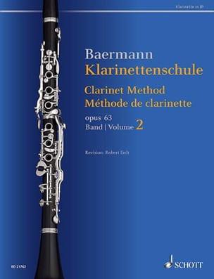Méthode de Clarinette, op. 63 - Volume 2 Carl Baermann laflutedepan