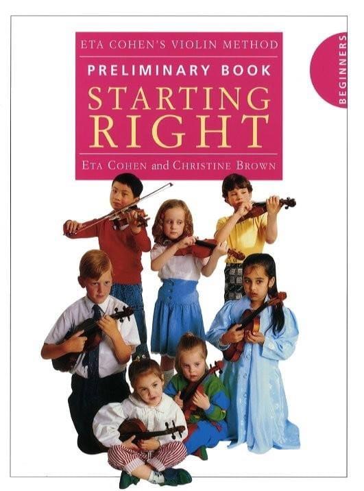 Violin Method, Preliminary book - Eta Cohen - laflutedepan.com