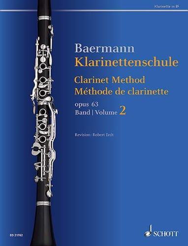 Méthode de Clarinette, op. 63 - Volume 2 - laflutedepan.com