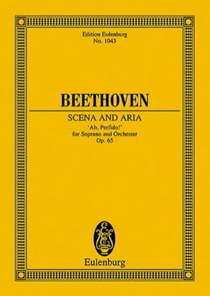 Ah, Perfido!, Opus 65 - Conducteur BEETHOVEN Partition laflutedepan
